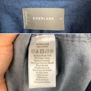Everlane Tops - Everlane Cotton Chambray Button Down